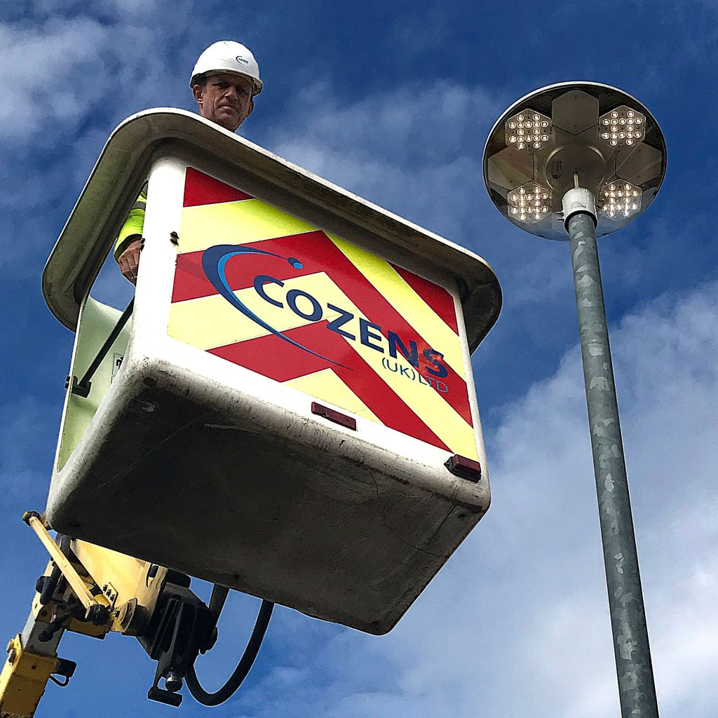 Cozens UK - LED Street Lighting Contactors and Electrical Services