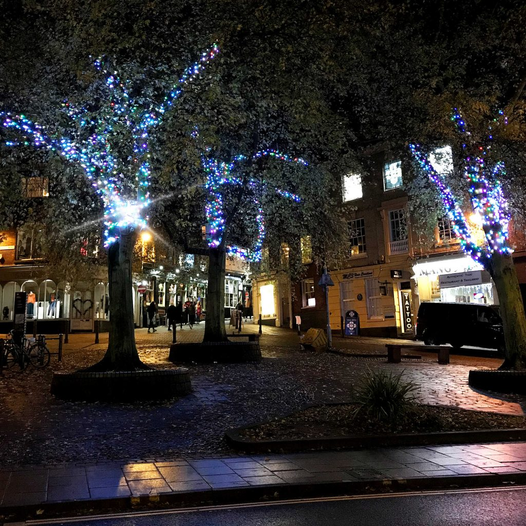 Cozens UK - Public And City Centre Christmas Tree Lighting Installation