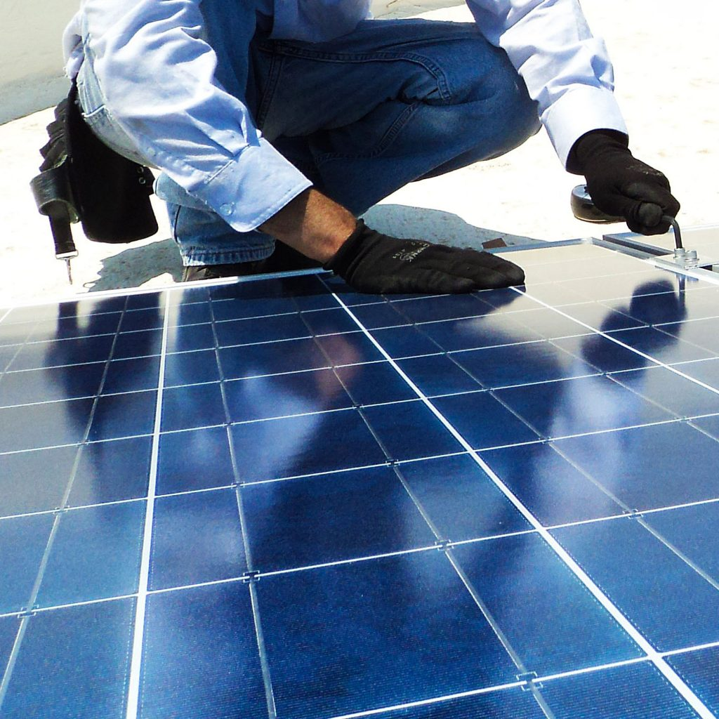 Imagery for commercial renewable electrical services nationwide